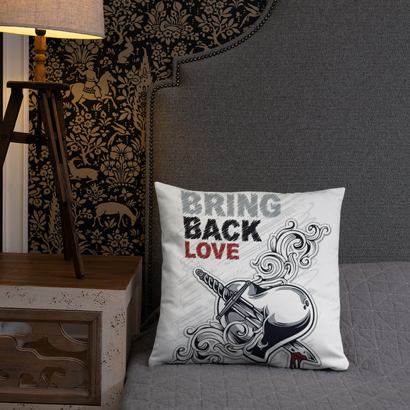 Bring back love - Basic Pillow