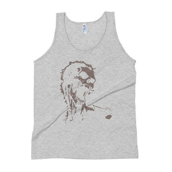 Screaming Scull-  Tank Top