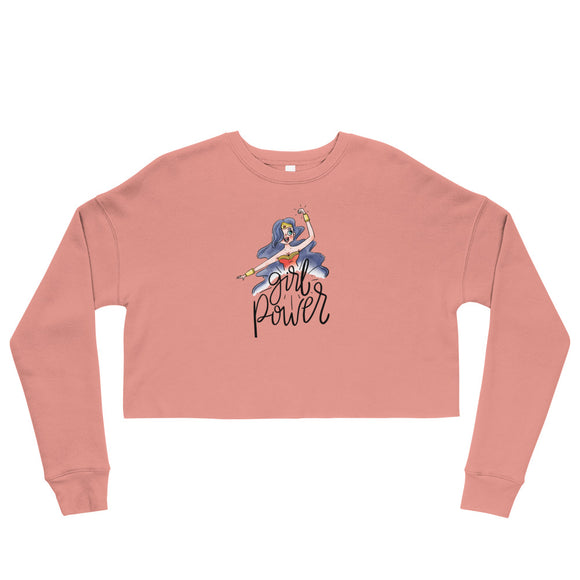 Girl Power - Crop Sweatshirt