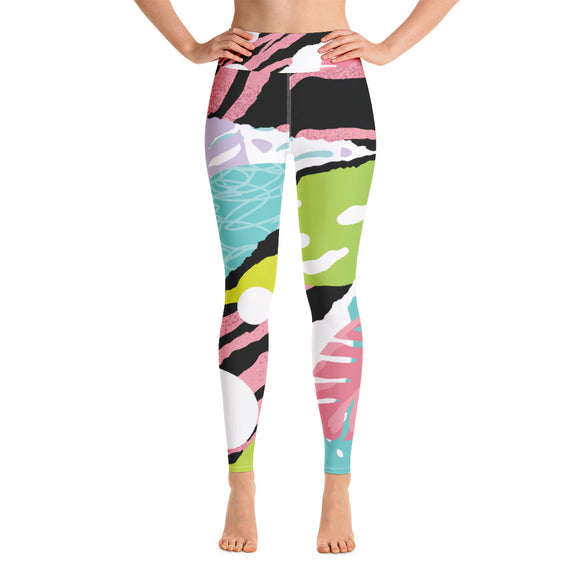 Pink popart - Yoga Leggings
