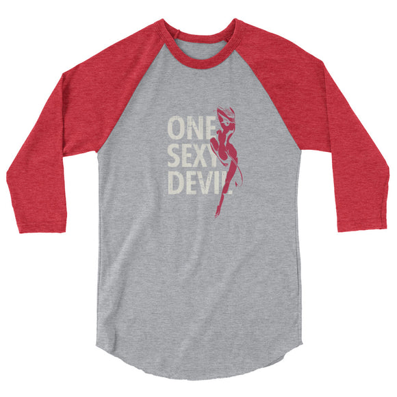 One sexy devil - 3/4 sleeve shirt