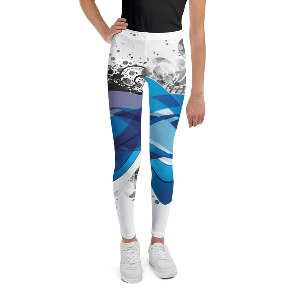 Abstract 5 - Youth Leggings