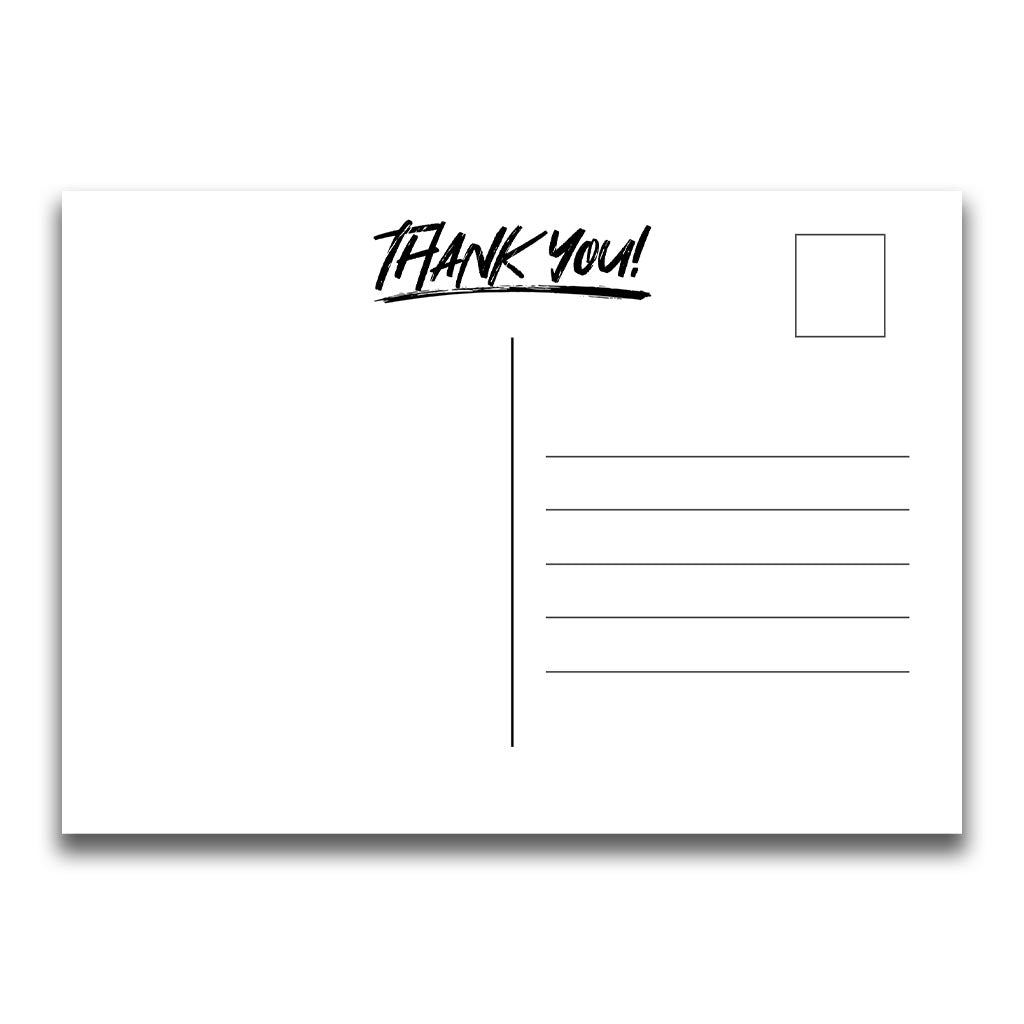 Team Thank You Postcards