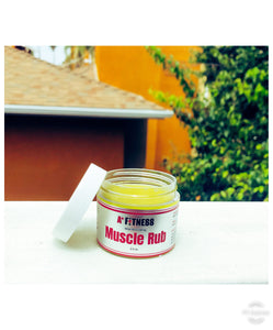 Hemp Oil 500mg Muscle Rub (2oz)