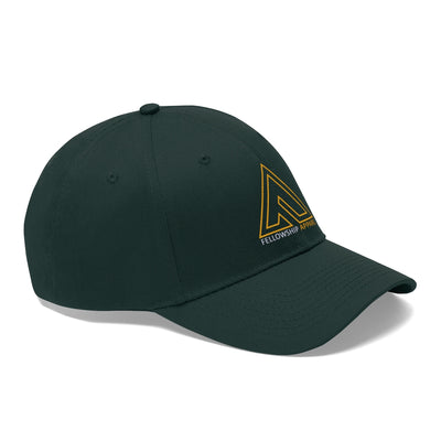 Unisex Twill Hat - Fellowship Apparel Gold Logo