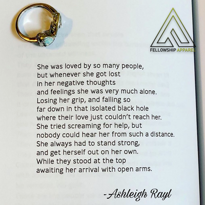 "Ashleigh Rayl's ""A Beautiful Difference"" Poetry Book 