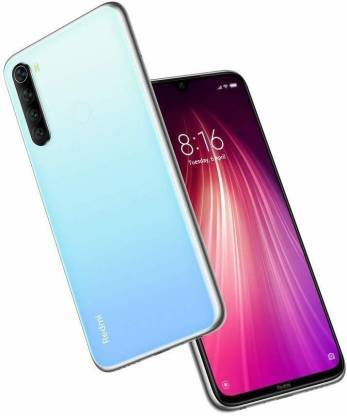 Redmi Note 8 (Neptune Blue, 4GB RAM, 64GB Storage)