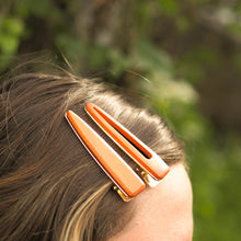 Load image into Gallery viewer, Bamboo Hair Clips