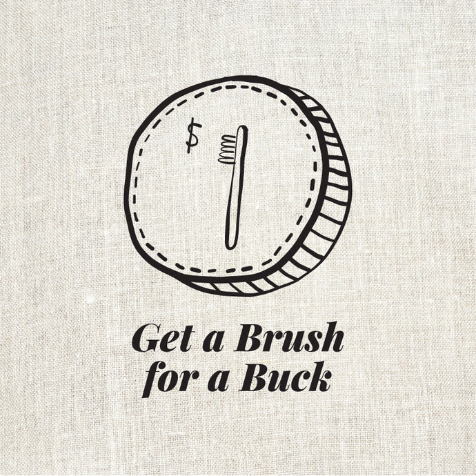 Brush for a Buck