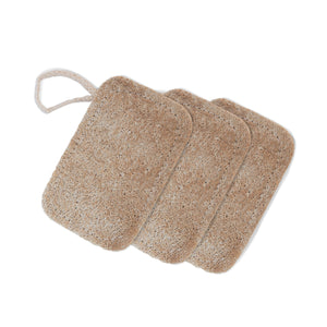 Compostable Kitchen Loofah - 3 Pack