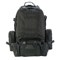 Outdoor 50L Military Rucksacks Tactical Backpack - Black