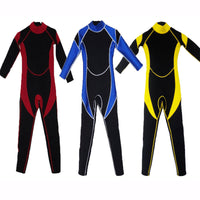 Kids 3/2mm neoprene full body wetsuit - Urban Bushy