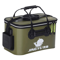 Foldable Waterproof  Live Fish Container with Handle - Urban Bushy