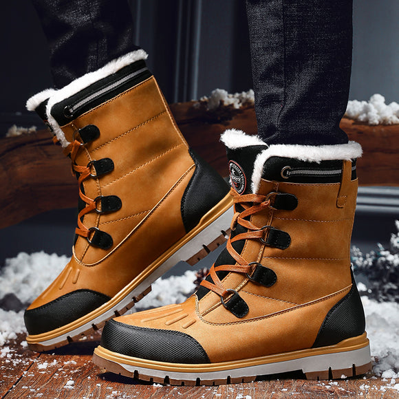 Waterproof Warm Plush Snow Boots