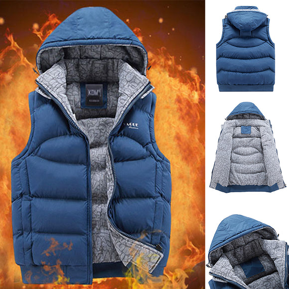 2020 Hot Sale Men's Sleeveless Jacket Down Vest(BUY 2 GET 10% OFF, BUY3 GET 15% OFF)