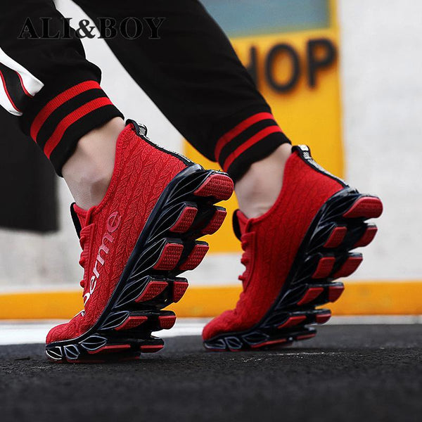 Men's Shoes - 2019 Stylish Casual Comfortable Shock Absorb Sport Sneakers