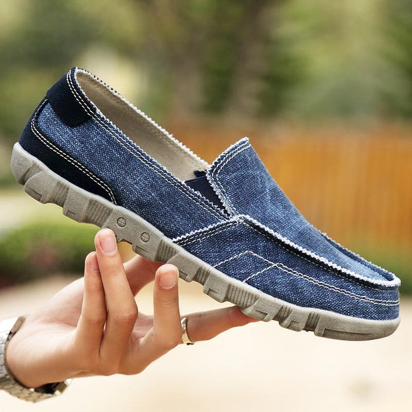Men's Shoes - Spring Autumn Fashion Casual Lace-up Comfortable Canvas Shoes