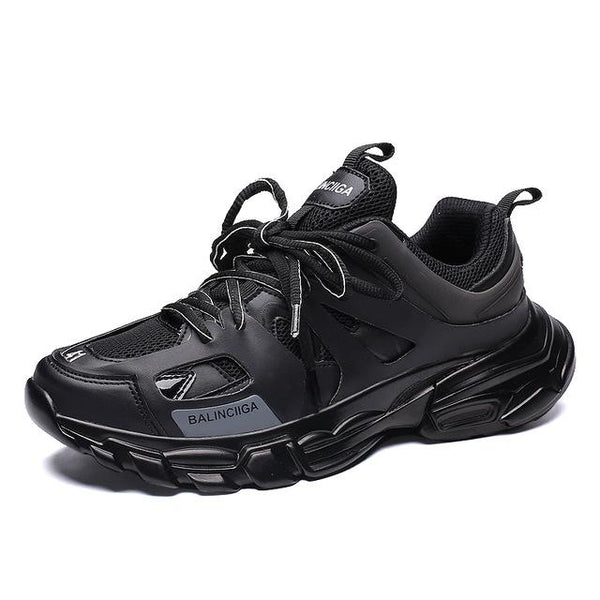 Men's Shoes - 2019 Spring New Men's Comfortable Breathable Anti Slip Lightweight Jogging Shoes