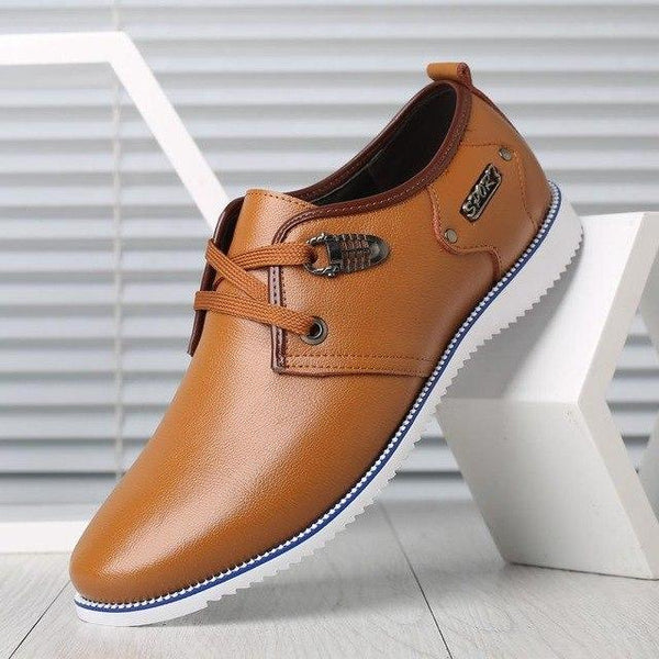 Shoes - Mens Oxford Shoes Soft Genuine Leather Shoes