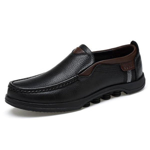 Men's Shoes - Fashion Men Genuine Leather Shoes