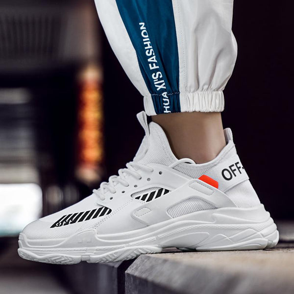 Men's Shoes - 2019 New Fashion Men's Breathable Comfortable Casual Shoes