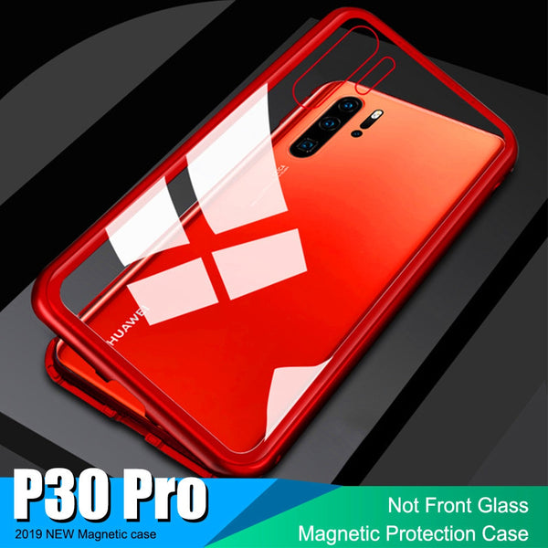 premium selection f95bd ccaa7 Luxury 360 Protective Magnetic Case For Huawei P10 P20 Mate 20 Pro Lite P30  Pro