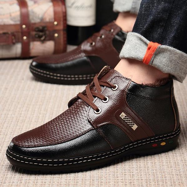 Shoes - Men's Warm Velvet Casual Shoes