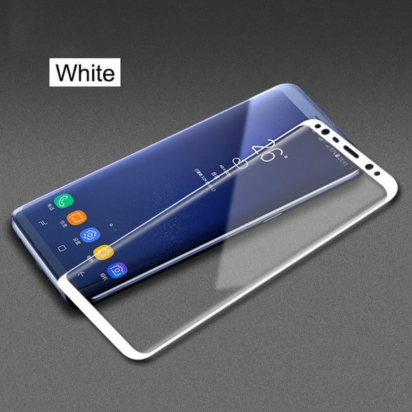 6D Full Cover Screen Protector For Samsung S6 S7 Edge S8 S9 + Note 8 9
