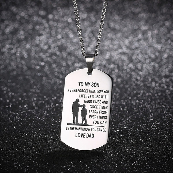 Necklace - to my son/daughter