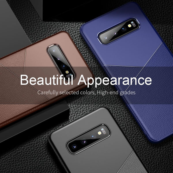 Military Shockproof Armor Hybrid Original Soft Silicone Cases For Samsung S10e S10 Plus Note 9 8 S9 S8 Plus S7 Edge