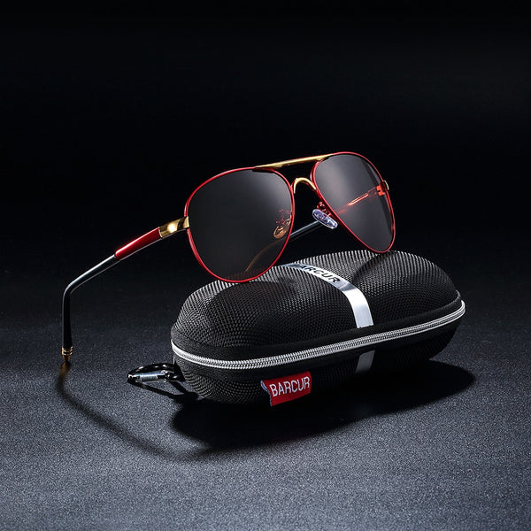 2019 New Fashion Men's Driving UV400 Polarized Sunglasses