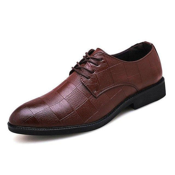 Shoes - Men Casual Oxfords Wedding Party Office Flats Shoes