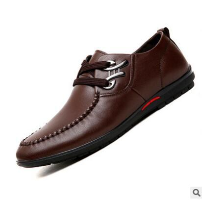 Shoes - Men's Fashion Casual Business Genuine Leather Shoes