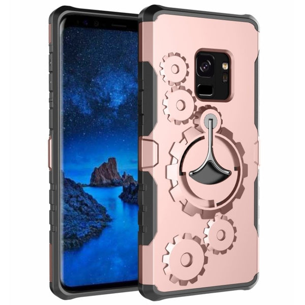 Shockproof Kickstand Arm Band Cover Case For Samsung S8 S9+ Note 8 9
