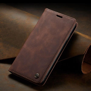Luxury Flip Retro Leather Card Holder Flip Case For iPhone X/XR/XS Max 8 7 5 5s SE 6 6s Plus