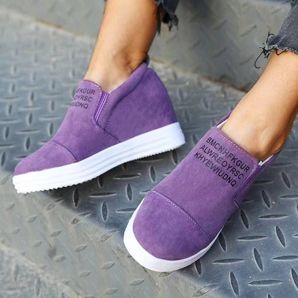 2019 Spring Autumn Comfortable Fashion Mid Heel Wedge Shoes