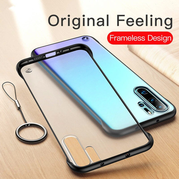 NEW Fashion Transparent Ring Cover Case For Huawei P20 P30 Pro Lite Mate 20 Pro X Lite Honor 20 Pro V20