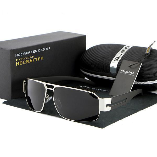 Fashion Polarized Driving Men's Sunglasses + Original Box