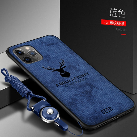 Luxury Soft fabric Deer Protective Back Cover Case for iphone(BUY 2 GOT 10% OFF, 3 GOT 15% OFF)