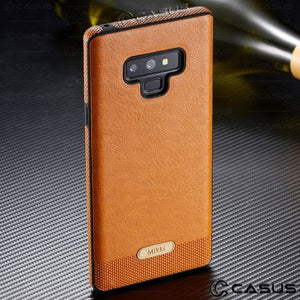 Luxury PU Leather Thin Case Cover For Samsung Galaxy S9 S8 Plus-new