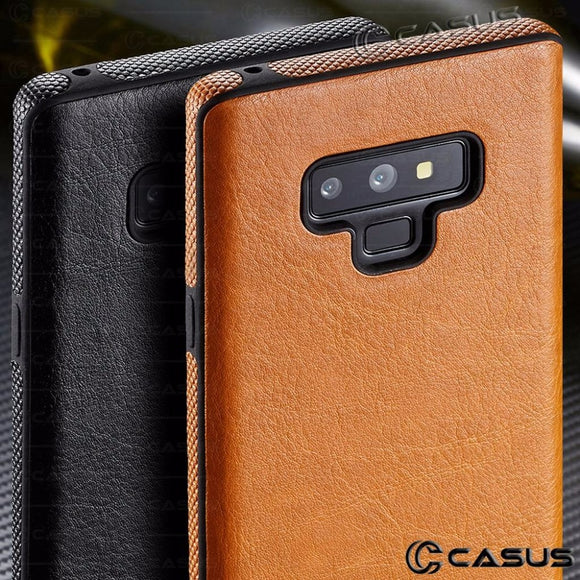 Luxury PU Leather Thin Case Cover For Samsung Galaxy S9 S8 Plus
