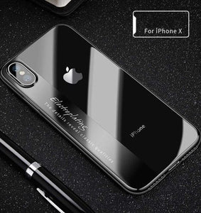 Luxury Armor Shockproof Clear Ultra Thin Soft Case For iPhone