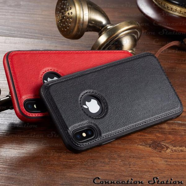 Phone Case - Vintage PU Leather Back Ultra Thin Case Cover for iphone X XS Max XR (Buy 2 Get 5% OFF, 3 Get 10% OFF)