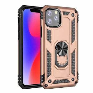 2020 Luxury Shockproof Armor Car Holder Ring Case For iphone 11 Pro Max X XR XS 7 8 6 6s PLus