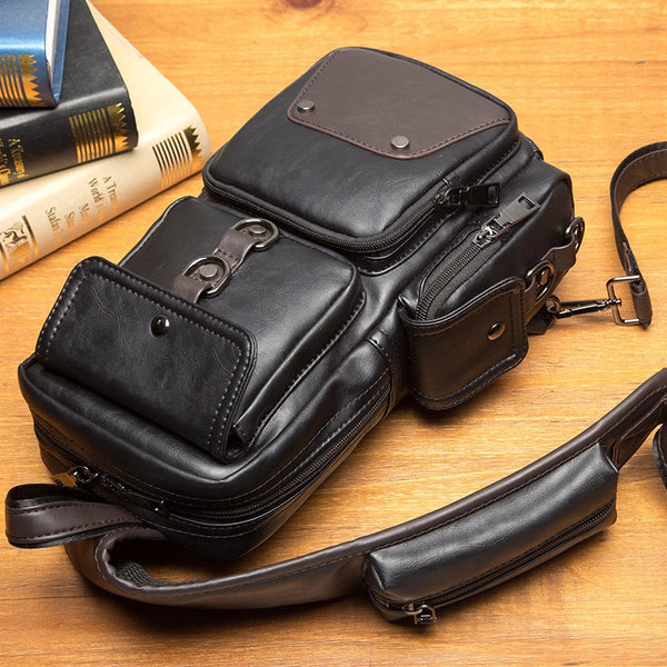 Hot Leather Waterproof PU Single Shoulder Bags(Buy 2 Get 5% OFF, 3 Get 10% OFF)