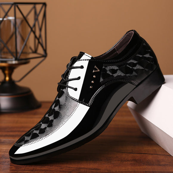 Men fashion office dress shoes