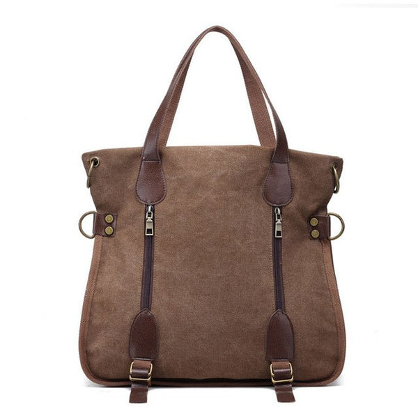 Bag - Fashion Multifunctional Women Canvas Bag