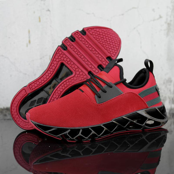Men's Shoes - Trending Style Sports Breathable Trainers Walking Sneakers
