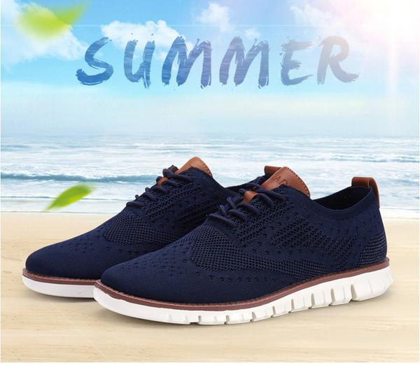 HOT SALE Summer Casual Knitted Mesh Breathable Shoes (Buy one Get one 20% OFF )