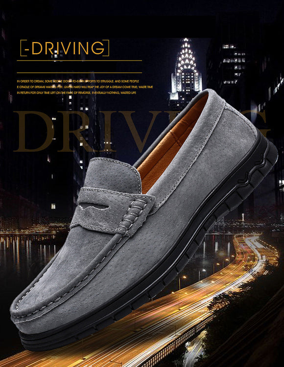 High Quality Soft Moccasins Men Driving Loafers